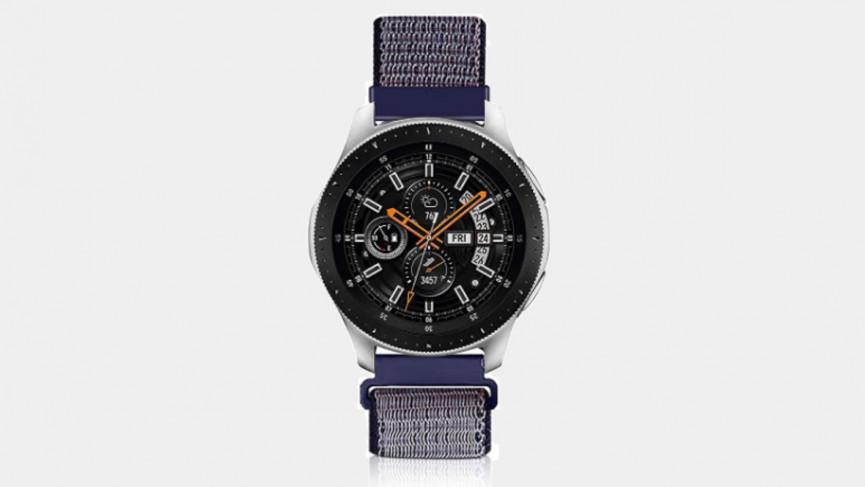 Samsung Galaxy Watch 3 45 mm - correa de nailon
