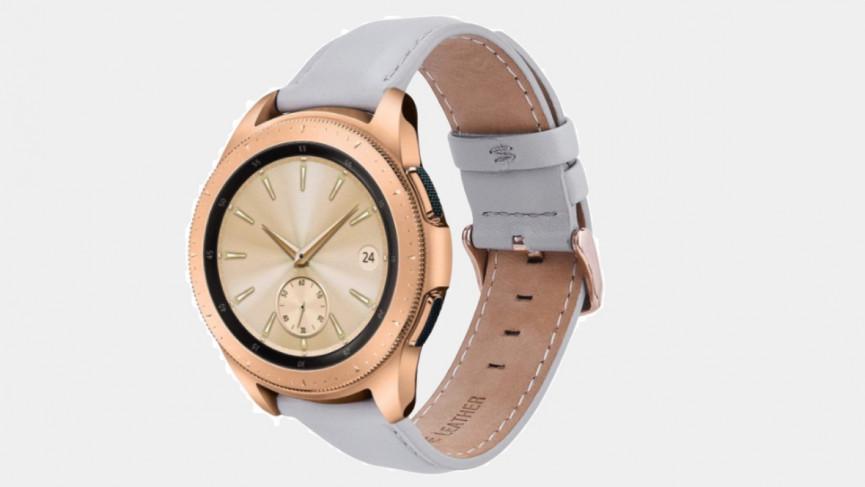 Samsung Galaxy Watch 3 de 41 mm de cuero para mujer