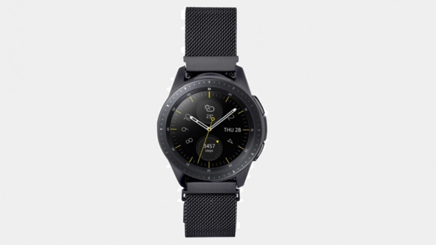 Samsung Galaxy Watch 3 Correa de malla metálica de 41 mm Correa de 20 mm