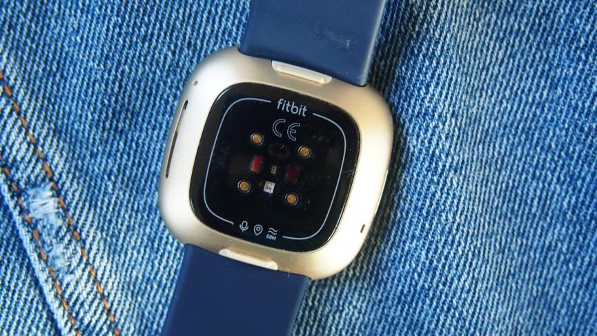Monitor de frecuencia cardíaca Fitbit Versa 3