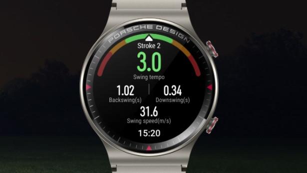 Aplicación Golf para Huawei Watch GT 2 Porsche Design