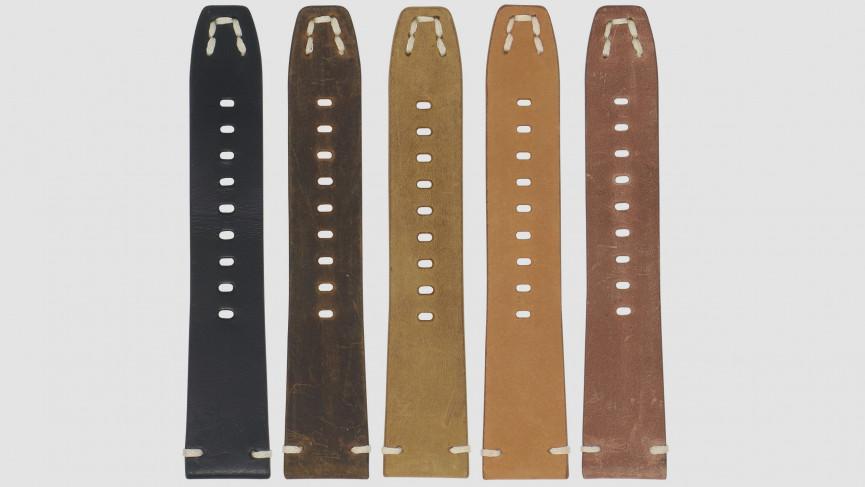 Correa de cuero vintage para Fitbit Versa / Versa 2
