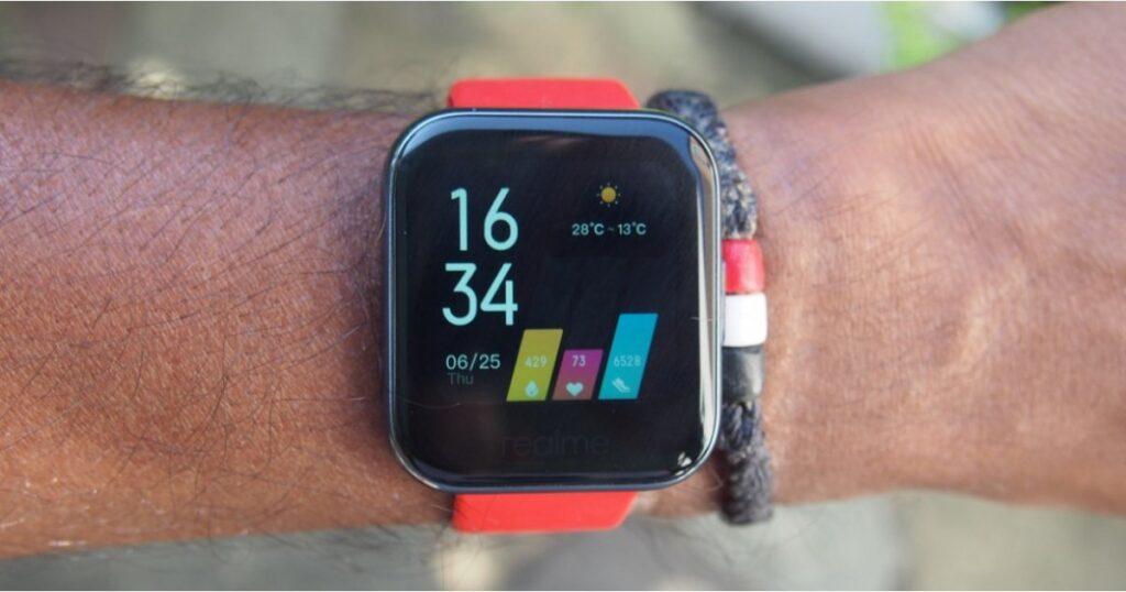 Realme bereitet eine neue Smartwatch vor, wenn das Budget steigt