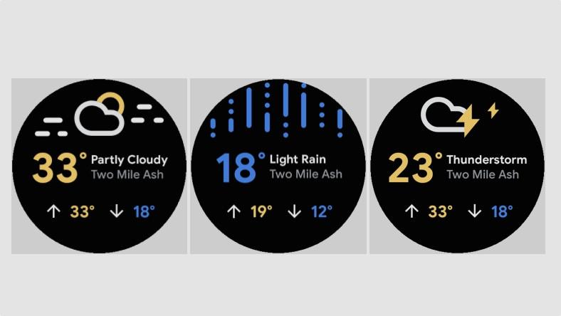 Nuevos mosaicos de Wear OS aterrizan en una actualización menor de Google