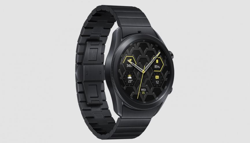 Samsung Galaxy Watch 3 Edición de titanio