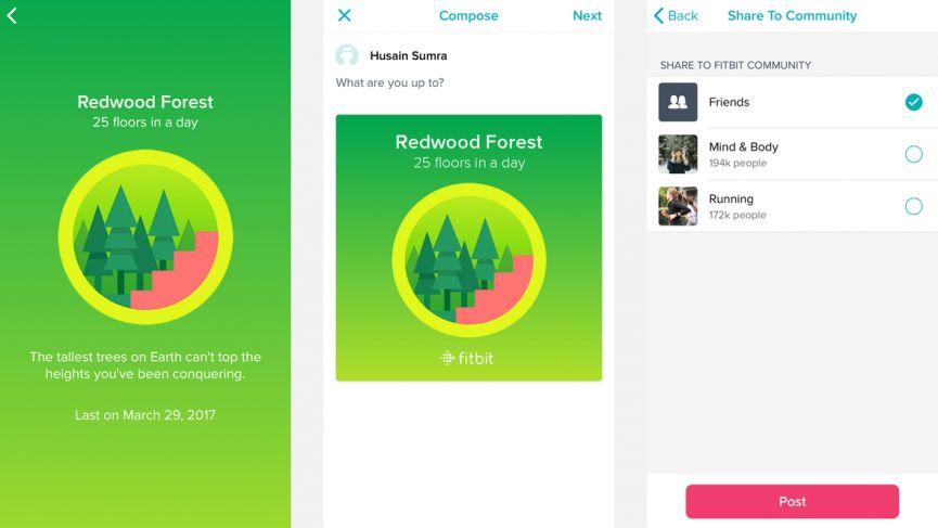 Gánelo: todo lo que necesita saber sobre las insignias de Fitbit