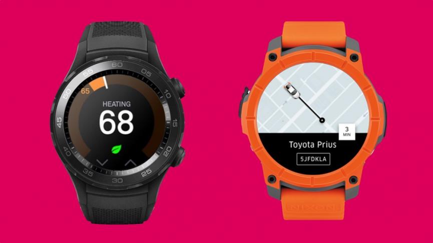 Comparación de las aplicaciones Tizen y Android Wear