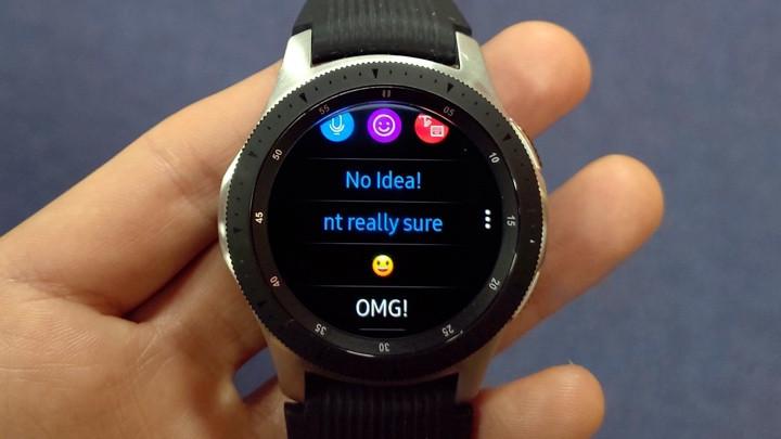 Samsung Galaxy Watch y Whatsapp: cómo enviar y responder SMS
