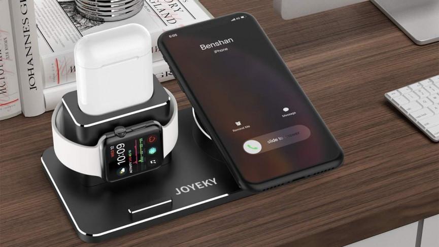 Los mejores soportes de carga para Apple Watch y iPhone