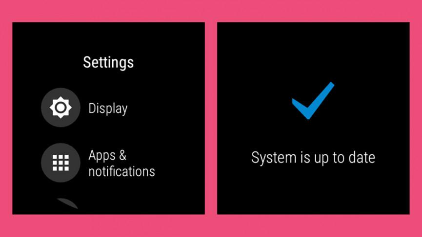 cómo actualizar Wear OS