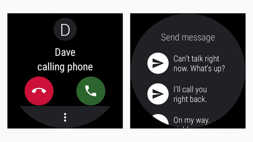 Cómo realizar llamadas en relojes inteligentes Wear OS