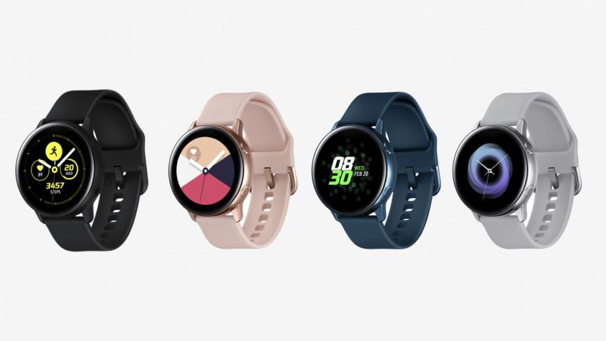 Samsung Galaxy Watch Active pierde su bisel retorcido pero trae monitoreo de presión arterial