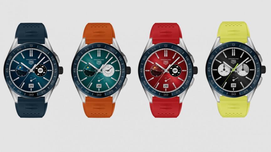 Llegan las nuevas ediciones de verano del reloj inteligente Tag Heuer Connected