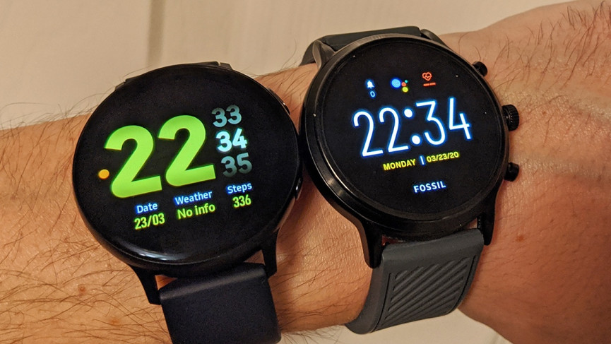 Tizen vs.Android Wear: hardware