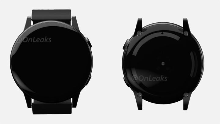 Samsung Galaxy Watch Sport se vuelve colorido en un nuevo renderizado