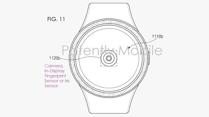 Samsung Galaxy Watch puede tener un escáner de huellas dactilares en pantalla