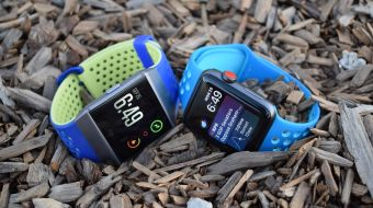 Apple Watch Fitbit Ionic v