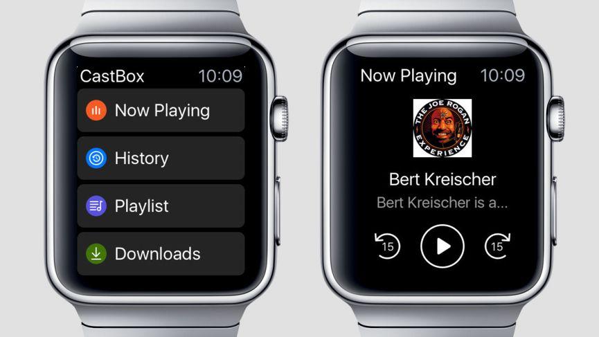Las mejores aplicaciones de podcasts para Apple Watch y Android Wear