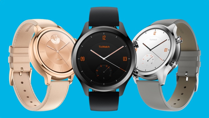El TicWatch C2 aporta un toque clásico a Wear OS, con NFC y GPS