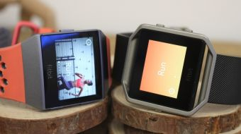 Fitbit Ionic frente a Fitbit Blaze