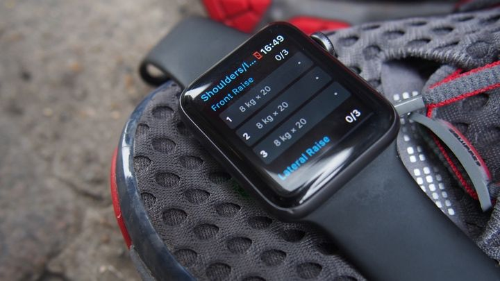 Semana 3: Diario de entrenamiento de fuerza de Conor - Estoy cansado de ti, Apple Watch