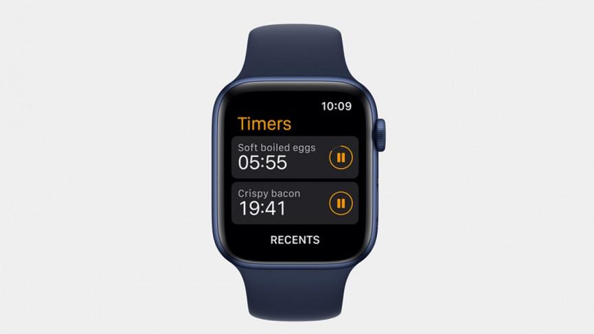 Configurar varios temporizadores de Apple Watch