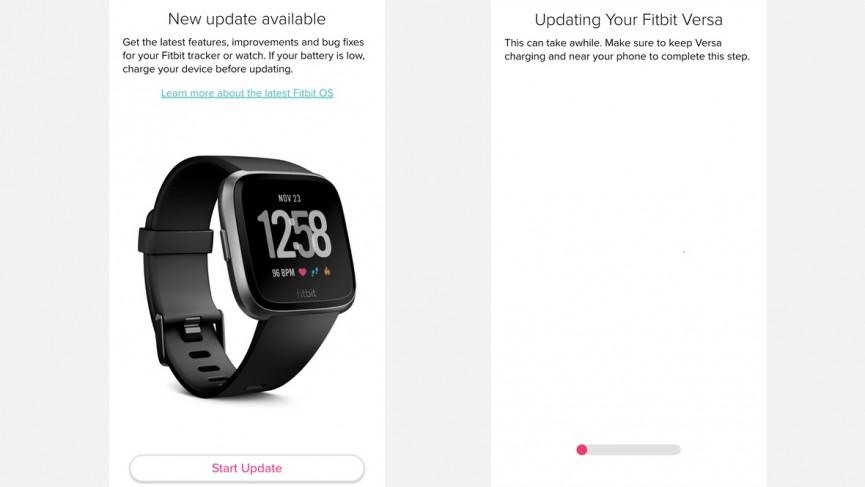 Cómo actualizar Fitbit
