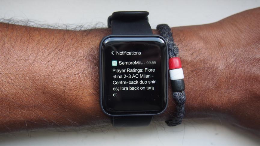 Notificaciones de Mi Watch Lite