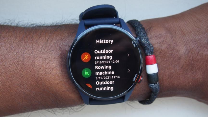 Diseño de reloj Xiaomi Mi