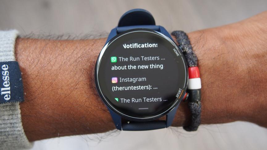 Notificaciones de Xiaomi Mi Watch