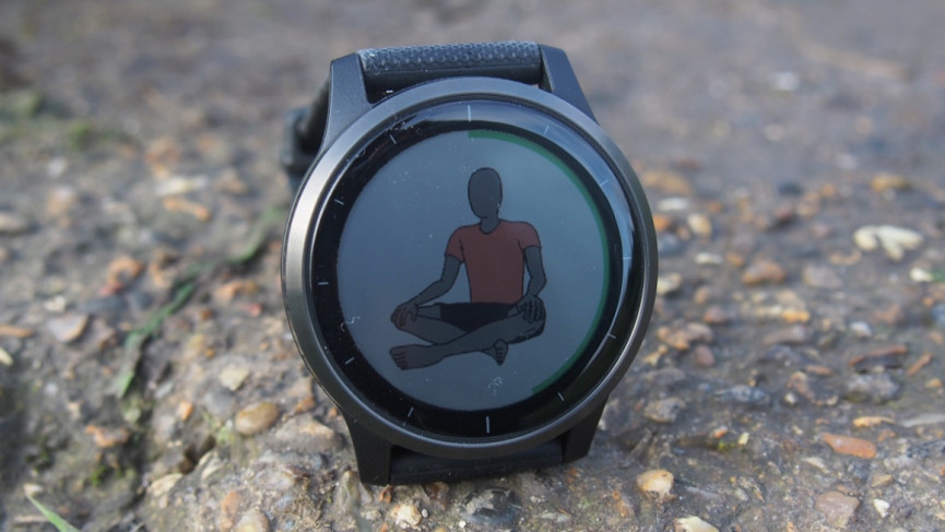 Rastreador de yoga Garmin Vivoactive 4