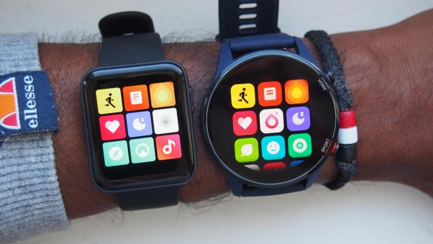 Xiaomi Mi Watch vs Mi Watch Lite: Diseño