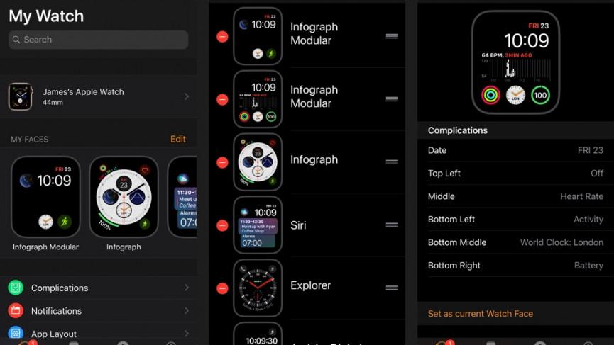 Cómo cambiar la cara y las complicaciones de tu Apple Watch