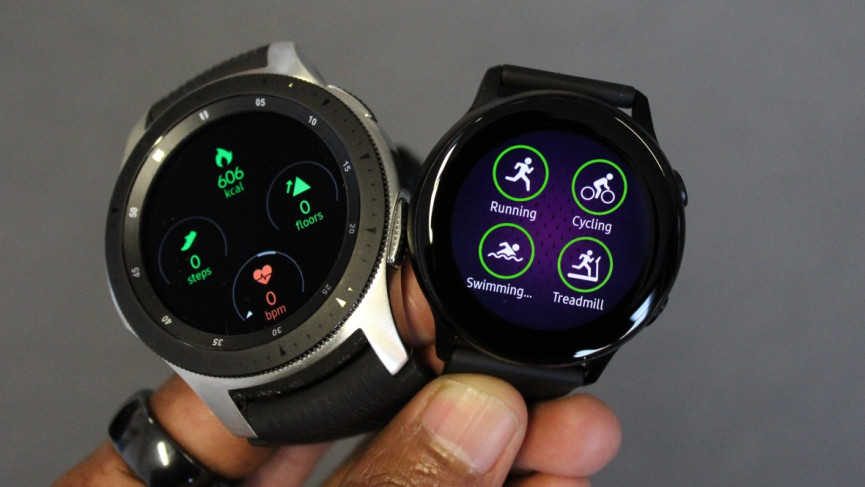Samsung Galaxy Watch vs.Galaxy Watch Active: tiroteo de smartwatch