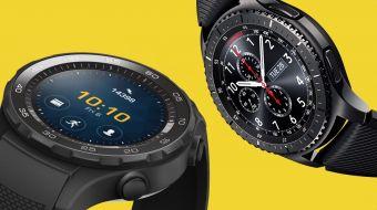Gear S3 frente a Huawei Watch 2