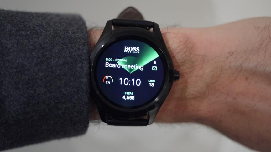 Hugo Boss Touch aumenta sin esfuerzo las apuestas de diseño de Android Wear