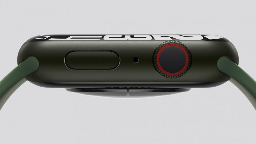Tecnología de pantalla Apple Watch Series 7