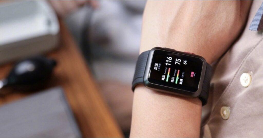 Detectan el reloj de presión arterial Huawei Watch D