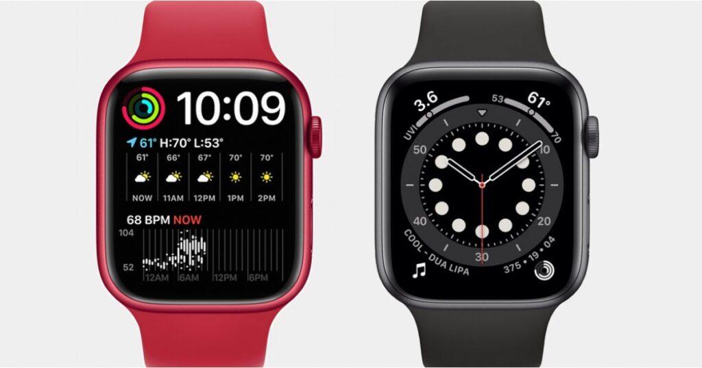Apple Watch Series 7 vs Watch Series 6: las diferencias a saber
